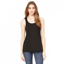 BELLA + CANVAS® Ladies Sheer Mini Rib Racerback Tank