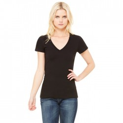 BELLA + CANVAS® Ladies Jersey Short Sleeve V-Neck T-Shirt